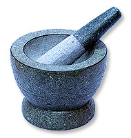 Mortar with Pestle